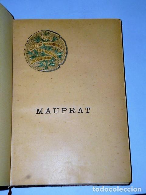 Libros antiguos: MAUPRAT. (1886) - Foto 2 - 81251560
