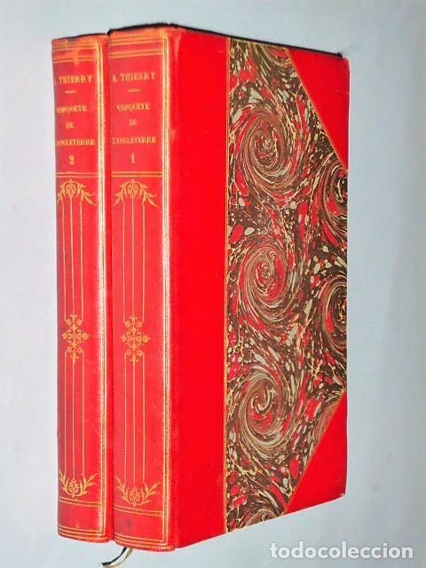 HISTOIRE DE LA CONQUÊTE DE L´ANGLETERRE PAR LES NORMANDS… (2 TOMOS, 1882) (Libros Antiguos, Raros y Curiosos - Otros Idiomas)