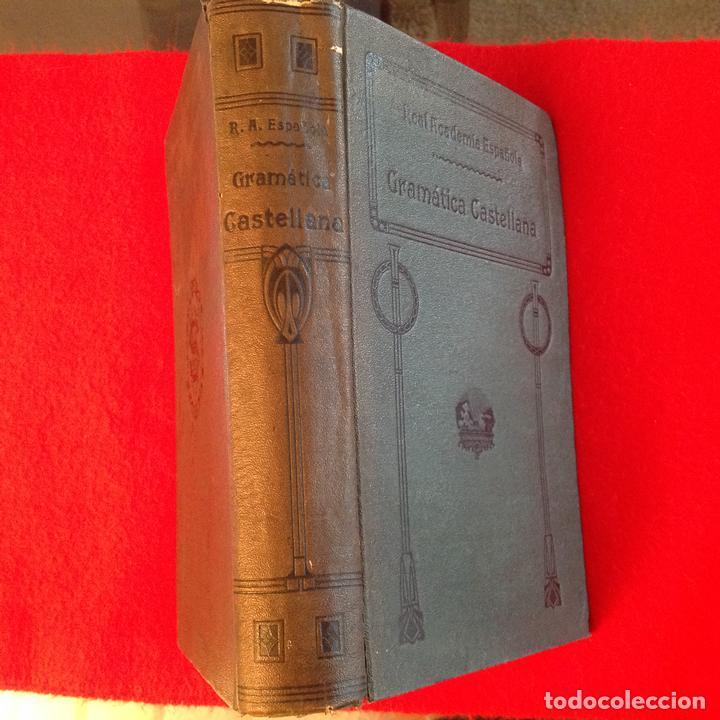 Libros antiguos: Gramática de la lengua castellana por la Real Academia Española 1920, con sello de la Real Academia - Foto 6 - 81326168