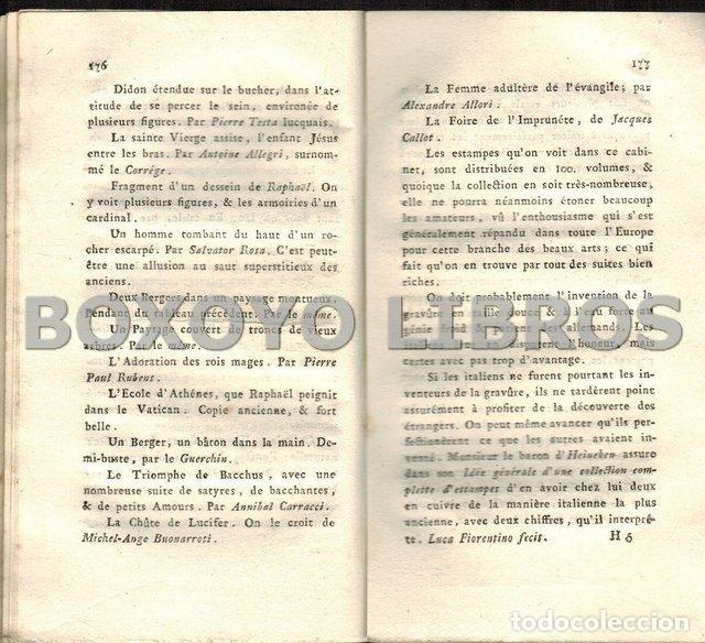 Libros antiguos: Description de la Galerie Royale de Florence. Nouvelle édtion. Reformeée, & augmentée - Foto 3 - 41016803