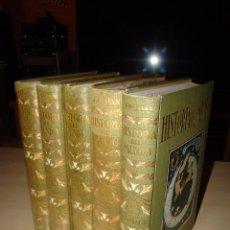Libros antiguos: HISTORIA DEL MUNDO - SALVAT 1926 - 5 TOMOS - NUEVOS . Lote 81574888