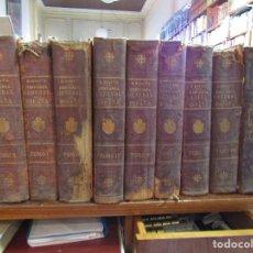 Libros antiguos: HISTORIA GENERAL DE ESPAÑA. MORAYTA. 9 TOMOS. ED. FELIPE GONZÁLEZ ROJAS. 1889-1896. Lote 81686028