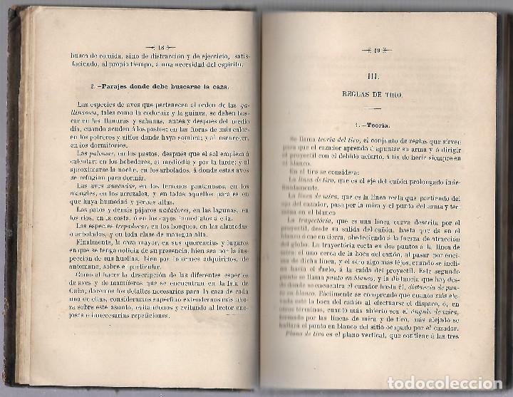 Libros antiguos: MANUAL DEL CAZADOR CUBANO. ENRIQUE MANERA Y CAO. EDITOR MANUEL SAURI, BARCELONA. 1886 - Foto 4 - 81734832