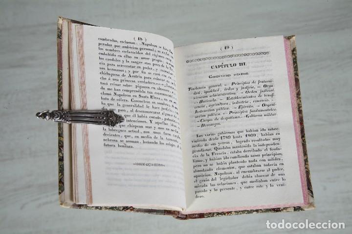 Libros antiguos: IDEAS NAPOLEÓNICAS-NAPOLEÓN LUIS BONAPARTE-TRAD. MANUEL DE LA ESCOSURA-BARCELONA-1839 - Foto 2 - 81895916