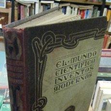 Libros antiguos: EL MUNDO CIENTÍFICO. INVENTOS MODERNOS. TOMO SEGUNDO A-INCOMP-220. Lote 81904000