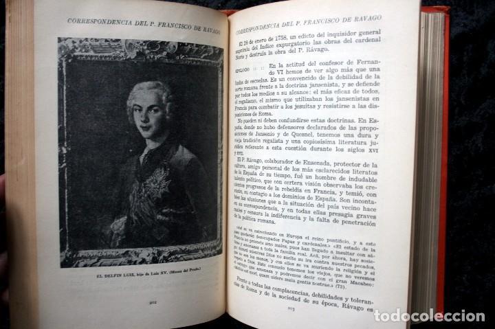 Libros antiguos: CORRESPONDENCIA RESERVADA E INEDITA DEL P. FRANCISCO DE RAVAGO, CONFESOR DE FERNANDO VI - Foto 4 - 81991260