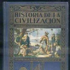 Libros antiguos: HISTORIA DE LA CIVILIZACION. HERRERO MIGUEL, A. ESTANT-063. Lote 82035444