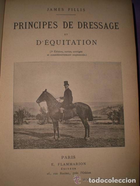 Libros antiguos: Principes de dressage et d équitation - Foto 2 - 82055912