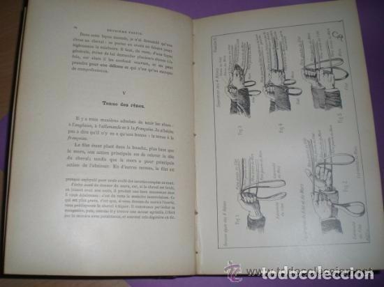 Libros antiguos: Principes de dressage et d équitation - Foto 5 - 82055912