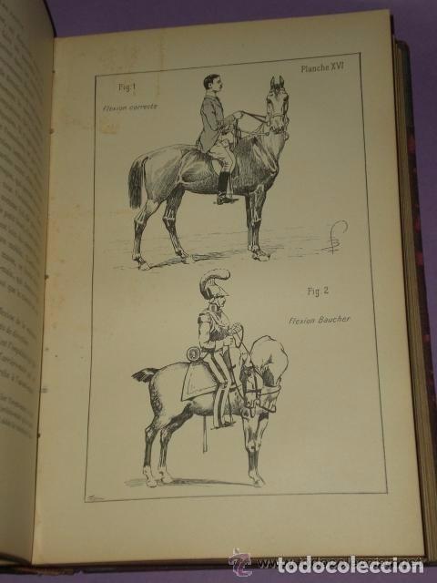 Libros antiguos: Principes de dressage et d équitation - Foto 6 - 82055912