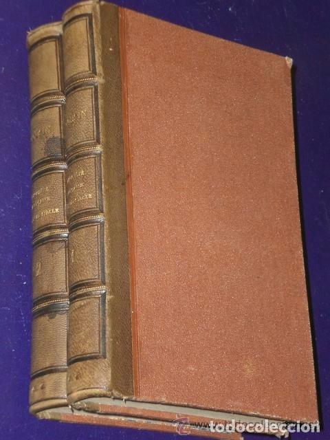 LA SOCIETE FRANÇAISE AU XVII SIECLE D'APRES LE GRAND CYRUS DE MLLE SCUDERY.,(2 TOMES,1858) (Libros Antiguos, Raros y Curiosos - Otros Idiomas)