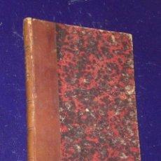 Libros antiguos: LES EAUX.ÉTUDE HYGIÉNIQUE ET MEDICALES SUR L´ORIGINE,LA NATURE ET LES DIVERS EMPLOIS DES EAUX (1865). Lote 82056968