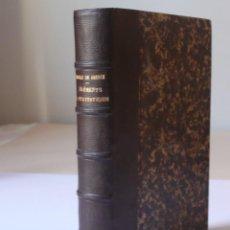 Libros antiguos: ELEMENTS DE STATISTIQUE, MOREAU 1856. Lote 135695581