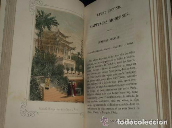 Libros antiguos: Illustrations, Ruines et Souvenirs Des Capitales Anciennes et Modernes. - Foto 2 - 82102028