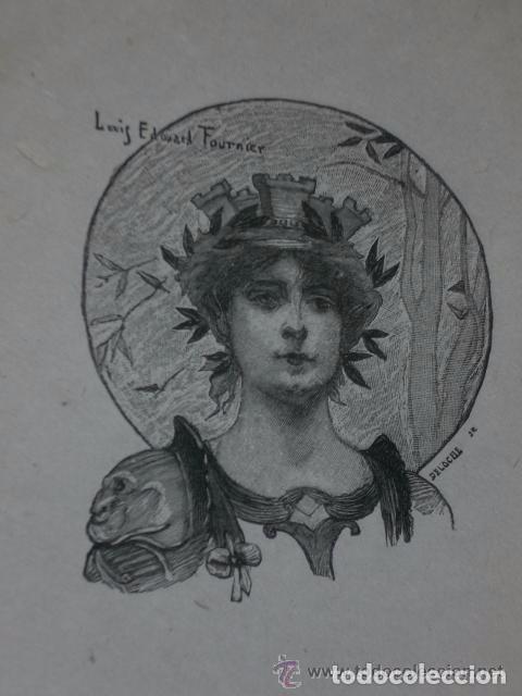 Libros antiguos: PROMENADE HISTORIQUE DANS PARIS. (1894) - Foto 3 - 82107216