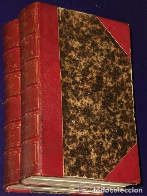 OEUVRES COMPLÈTES DE MOLIERE.(2 TOMOS,1869) (Libros Antiguos, Raros y Curiosos - Otros Idiomas)