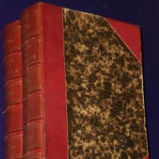Libros antiguos: OEUVRES COMPLÈTES DE MOLIERE.(2 TOMOS,1869). Lote 82108008