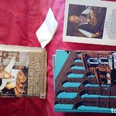 Libros antiguos: LA COCINA ESPAÑOLA - POR CANDIDO MESONERO MAYOR DE CASTILLA - AÑO 1989.. Lote 82166260
