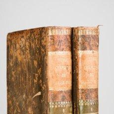 Libros antiguos: OEUVRES COMPLETES DE MOLIERE - TOMOS 1 Y 2 - OBRA COMPLETA - EDITION DE CH. LAHURE - PARIS 1857. Lote 82271804