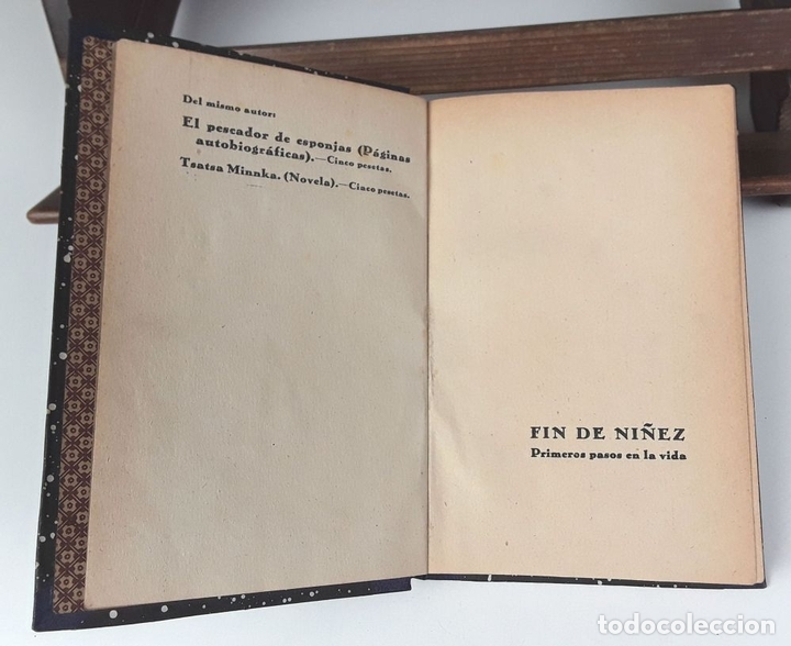 Libros antiguos: TSATSA MINNKA. PANAIT ISTRATI. EDIT. ZEUS. 1930/1931?. - Foto 3 - 82291584