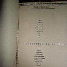Libros antiguos: LA CUESTIÓN DE ORIENTE, EMILIO CASTELAR, 1876, MUY BUEN ESTADO, EN HOLANDESA. Lote 82532340