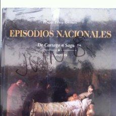 Libri antichi: EPISODIOS NACIONALES (DE CARTAGO A SAGUNTO - CANOVAS) VOL. 23. Lote 82573192