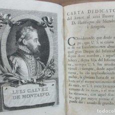 Libros antiguos: EL PASTOR DE FILIDA. GÁLVEZ DE MONTALVO, LUIS. 1792. LITERATURA S. XVI, POESIA PASTORIL.. Lote 82630664