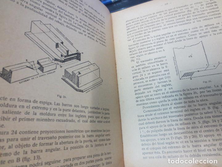 Libros antiguos: MANUAL DE CARPINTERÍA MODERNA F. T. HODGSON EDIT LBRERIA DE FELIU Y SUSANNA AÑO 1914 - Foto 3 - 82844984