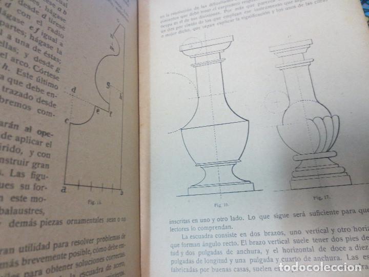 Libros antiguos: MANUAL DE CARPINTERÍA MODERNA F. T. HODGSON EDIT LBRERIA DE FELIU Y SUSANNA AÑO 1914 - Foto 4 - 82844984