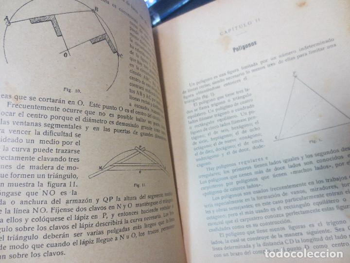 Libros antiguos: MANUAL DE CARPINTERÍA MODERNA F. T. HODGSON EDIT LBRERIA DE FELIU Y SUSANNA AÑO 1914 - Foto 5 - 82844984