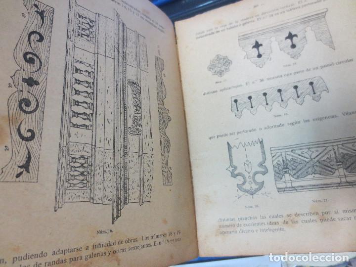 Libros antiguos: MANUAL DE CARPINTERÍA MODERNA F. T. HODGSON EDIT LBRERIA DE FELIU Y SUSANNA AÑO 1914 - Foto 6 - 82844984
