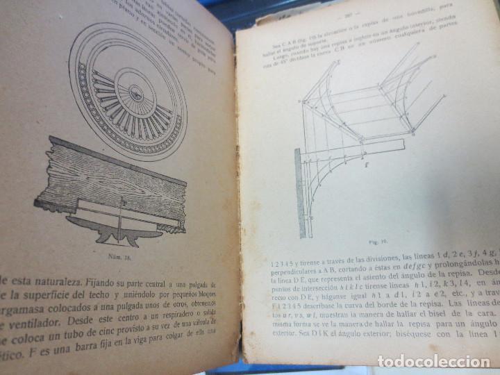 Libros antiguos: MANUAL DE CARPINTERÍA MODERNA F. T. HODGSON EDIT LBRERIA DE FELIU Y SUSANNA AÑO 1914 - Foto 7 - 82844984