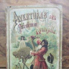 Libros antiguos: AVENTURAS DEL FEÍSIMO LENTEJILLA. CUENTO FANTÁSTICO. ILUSTR. N. MÉNDEZ-BRINGA. C. 1900.. Lote 82876116