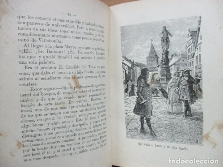 Libros antiguos: AVENTURAS DEL FEÍSIMO LENTEJILLA. CUENTO FANTÁSTICO. ILUSTR. N. MÉNDEZ-BRINGA. C. 1900. - Foto 4 - 82876116