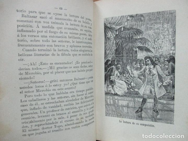 Libros antiguos: AVENTURAS DEL FEÍSIMO LENTEJILLA. CUENTO FANTÁSTICO. ILUSTR. N. MÉNDEZ-BRINGA. C. 1900. - Foto 5 - 82876116