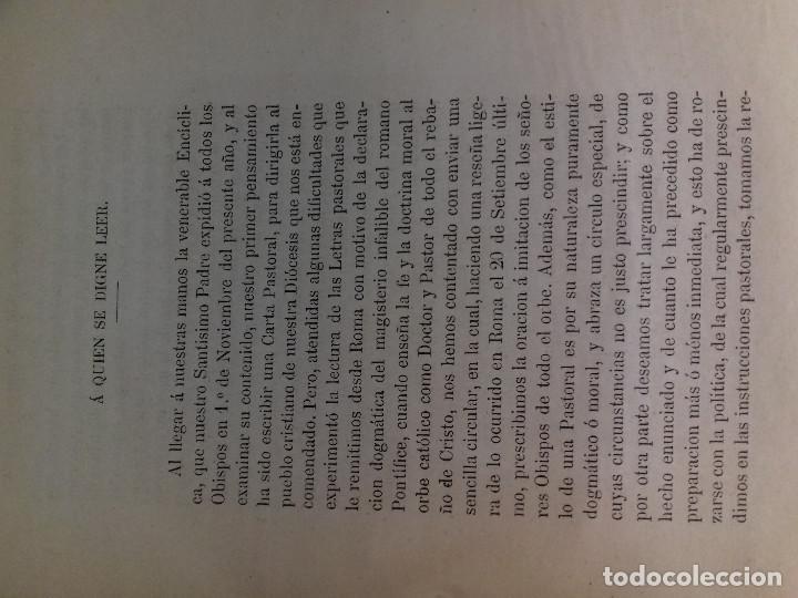 Libros antiguos: PIO NONO Y LA ITALIA DE UN DIA-OBISPO DE LA HABANA-IMP MATEO SANZ Y GOMEZ-VITORIA 1871 - Foto 3 - 83007456