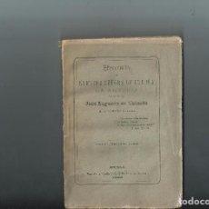Libros antiguos: 1883 HISTORIA DE NUESTRA SEÑORA DE ORDUÑA LA ANTIGUA. JOSÉ EUGENIO DE URIARTE. INTONSO. Lote 83039984