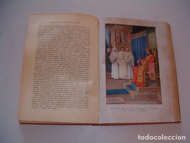 Libros antiguos: Historia de los Papas y los Reyes I, II, III, IV y V. CINCO TOMOS. RM79844. - Foto 3 - 83139348