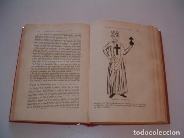 Libros antiguos: Historia de los Papas y los Reyes I, II, III, IV y V. CINCO TOMOS. RM79844. - Foto 5 - 83139348