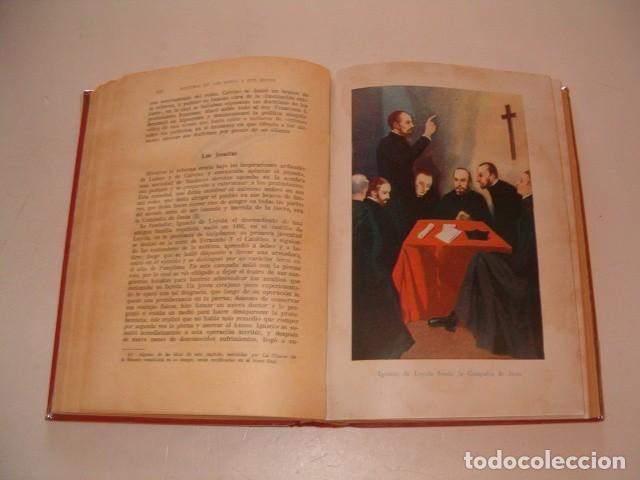 Libros antiguos: Historia de los Papas y los Reyes I, II, III, IV y V. CINCO TOMOS. RM79844. - Foto 7 - 83139348