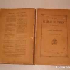 Libros antiguos: EMILIO CASTELAR. LAS GUERRAS DE AMÉRICA Y EGIPTO. HISTORIA CONTEMPORÁNEA. RM79884. . Lote 83155072