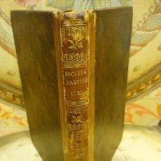 Libros antiguos: EXTRACTOS DE LAS JUNTAS GENERALES CELEBRADAS POR LA REAL SOCIEDAD BASCONGADA.......1.789.. Lote 83264220