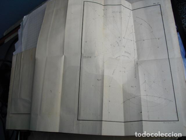 Libros antiguos: 1839 GNOMONIQUE OU ART DE TRACER LES CADRANS SOLAIRES C.S.F. LIVET - Foto 4 - 83268516