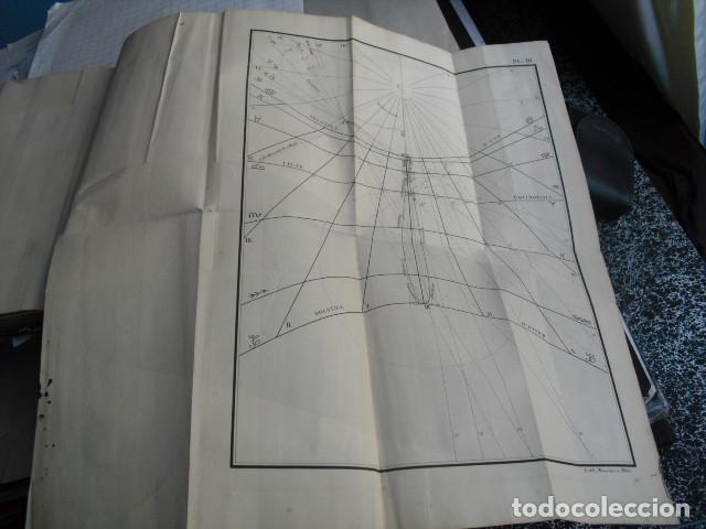 Libros antiguos: 1839 GNOMONIQUE OU ART DE TRACER LES CADRANS SOLAIRES C.S.F. LIVET - Foto 6 - 83268516