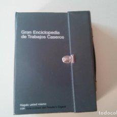Libros antiguos: GRAN ENCICLOPEDIA DE TRABAJOS CASEROS-2 VOLUMENES EN CARPETA-ED. SELECCIONES DEL READER DIGEST-1ª ED. Lote 83276532