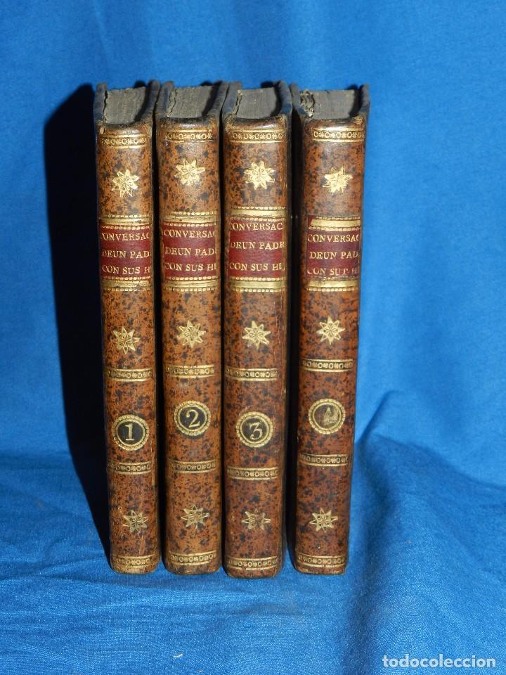 Libros antiguos: (MF) J F DURROCA - CONVERSACIONES DE UN PADRE CON SUS HIJOS SOBRE LA HISTORIA NATURAL 1811 COMPLETO - Foto 8 - 83370660