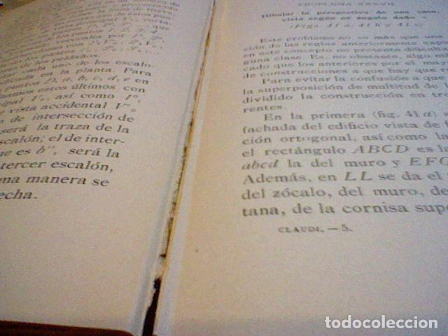 Libros antiguos: C. CLAUDI MANUAL PERSPECTIVA 1914 - Foto 4 - 83704780