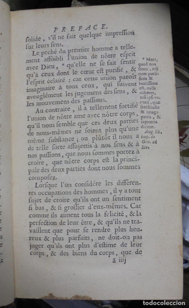 Libros antiguos: LIBRO EN FRANCÉS. LA RECHERCHE DE LA VERITÉ. MALEBRANCHE. PARÍS. 1700 - Foto 3 - 40030120