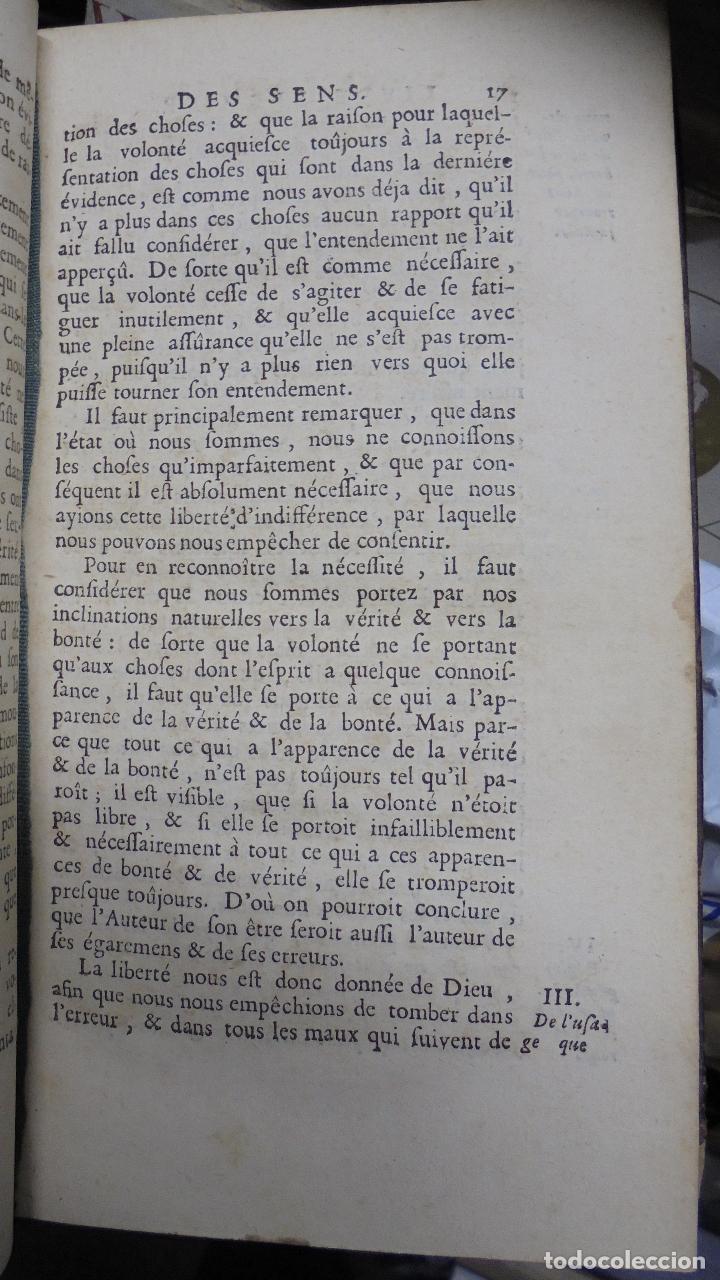 Libros antiguos: LIBRO EN FRANCÉS. LA RECHERCHE DE LA VERITÉ. MALEBRANCHE. PARÍS. 1700 - Foto 6 - 40030120