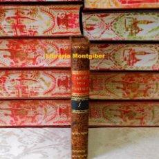 Libros antiguos: FABLES . TOME PREMIER . AUTOR : LA FONTAINE . Lote 83802052